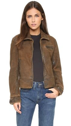 Levi's Vintage Clothing 1930s Leather Jacket