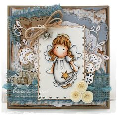 You are my angel or christmas card for a friend by Cardville, $13.95