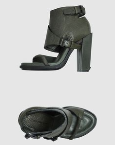 and, the look sooo comfy. Thats a great heel to walk in also.