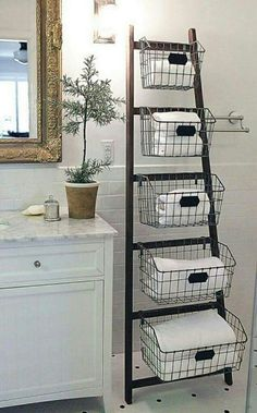 Ladder and baskets Love It: