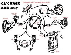1977 sportster chopper wiring diagram. use at your own