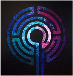 labyrinth quilt pattern | labyrinths have been used for thousands of years as a