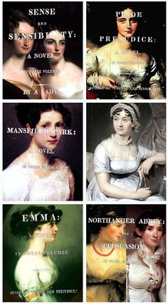 Jane Austen--well some of them anyway; should read the rest.