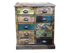 Reclaimed Indian Chest