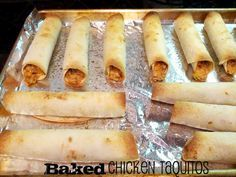 Kid friendly baked chicken taquitos! Creamy and not too spicy. Everyone loves them! You get 16 out of this recipe and they reheat well.