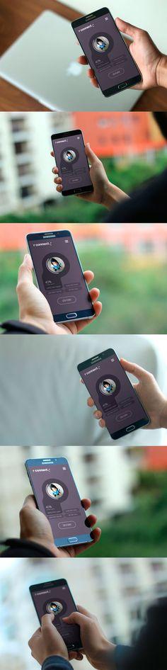 6 Mockups Android photorealista para diseñadores y desarrolladores