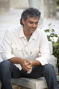 Andrea Bocelli---what an incredible voice! love to his version of Amazing Grace.