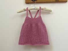 How to crochet a pretty lace dress for beginners - any size - YouTube