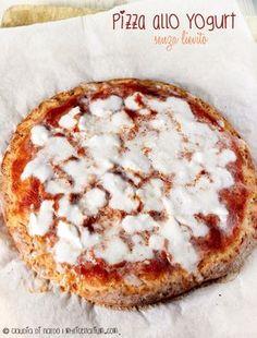 Pizza farro, yogurt, bicarbonato. Senza lievitazione