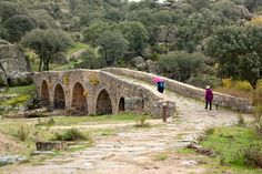 Puente Mocho en Ledesma, Salamanca
