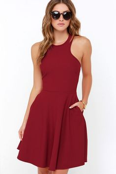 bfdbce0ba1a 21 Best Wine red dress images