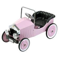 Pink Voiture Classic Pedal Car - Dexton