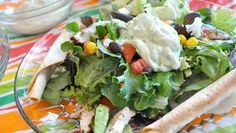 SALADS   recipe list for MEXICAN KITCHEN