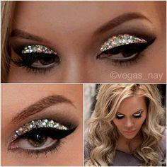 Gorgeous Glitter eyes