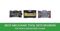 The 10 Best Mechanic Tool Sets Reviews – 2017 Top Picks and Buyer's Guide