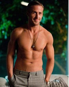 Ryan Gosling....Need I say more?  I might already have this one. In that case, twice-pinned. Hello. Love this scene.