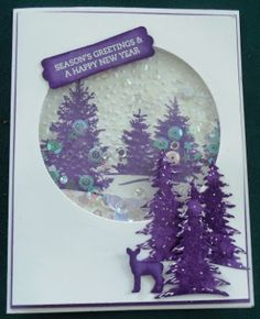 """- Heidi's """"All About Christmas"""" Challenge Die Cut Christmas Cards, Christmas Flyer, Homemade Christmas Cards, Christmas Scenes, Xmas Cards, All Things Christmas, Homemade Cards, Holiday Cards, Christmas Crafts"""