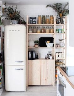 By finding inexpensive kitchen storage ideas, making things accessible, organizing by the type of items and getting rid of all the things you do not use, you may become the organization guru. For more ideas like this go to glamshelf.com #kitchens #kitchenorganization #kitchencabinets #kitchenstorage