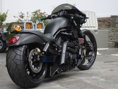 were I to ever get a motorcycle... a turbo'd Night Rod it'd be