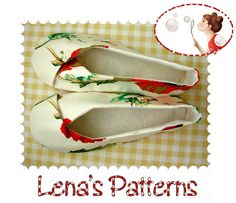 Easy Sewing Pattern for Womans Kimono Shoes on etsy