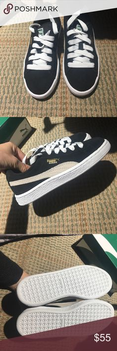 Kids pumas Brand new we're a Christmas present but never fit and it's too late to return Puma Shoes Sneakers