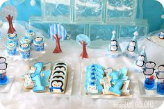 Penguin birthday party ideas for Levi's 2nd Birthday!!!!! haha, is it sad that I want this for my 20th birthday?