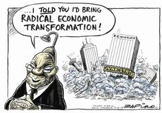 As South Africa gets used to a post-Zuma era, ZAPIRO takes a look back at some of his best work spanning the Zuma years. Political Quotes, Political Satire, News South Africa, Jacob Zuma, African States, Told You So, Bring It On, Shit Happens, Memes