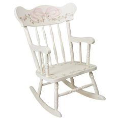 AFK Childs Ribbons & Roses Rocking Chair AFK509