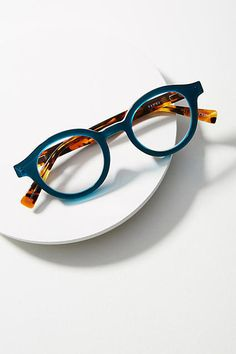 Explore Anthropologie's unique collection of Sunglasses & Reading Glasses, featuring the season's newest arrivals. Funky Glasses, Cute Glasses, Glasses Frames, Lunette Style, Fashion Eye Glasses, Four Eyes, Eye Frames, Womens Glasses, Ladies Glasses