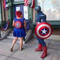 Captain America bound #disneybound #marvelbound #captainamericabound #captainamericadisneybound
