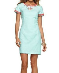Lilly Pulitzer Resort '13- Nora Dress in Crystal Water - also need...