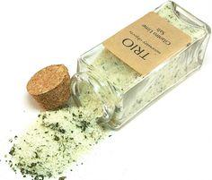 Cilantro Lime Salt Seasoning - 3.4oz by Trio Artisan Designs on Gourmly