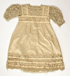 Child's Dress Design House: House of Lanvin (French, founded Designer: Jeanne Lanvin (French, Date: 1910 Culture:French Medium: Silk Credit Line: Gift of Mrs. Old Dresses, Vintage Dresses, Vintage Outfits, Jeanne Lanvin, Edwardian Fashion, Vintage Fashion, French Fashion Designers, Antique Clothing, Madame