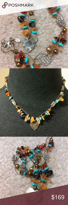 Vintage Peyote Bird 925 Turquoise Quartz Pearl Vintage Authentic Navajo Peyote Bird hand tooled silversmith silver.? Each bead is handmade/handtooled/cut/carved/polished. Original price $328.? 925, Turquoise, Smoky Quartz, Quartz, Rose Quartz, Freshwater Pearls etc.? Jewelry Necklaces