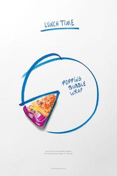 Sadia Pizza Hot Pocket: Bubble Wrap