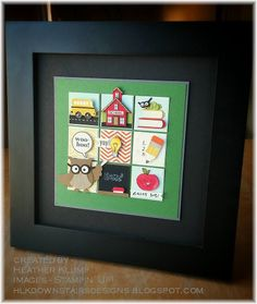 Back to School Punch art sampler #SU Downstairs Designs: That Time of Year again