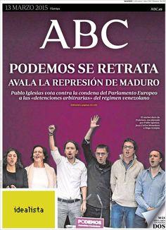 Diario ABC de 13 Marzo 2015 y Recordar que pueden visualizar en vídeos las noticias cada día en http://www.youtube.com/vendopor