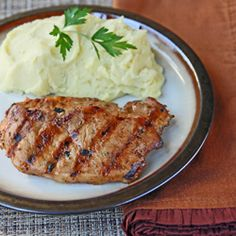Tangy Barbecued Pork Chops