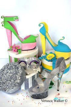 1000+ images about Fondant shoes on Pinterest Shoe cakes ...