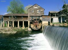 The Old Mill, Pigeon Forge, Tennesee