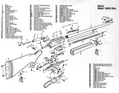 Gun diagrams and parts