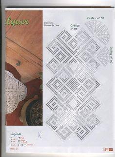 Crochê - Mania de Arte - Barbante 27 - Elaine Cristini - Picasa Web Albums