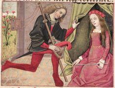 [folio 155r] MS. Douce 195 (Le roman de la rose) XV cnt. Robinet Testard  http://romandelarose.org/#browse;Douce195