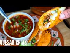 Tacos, Quesadillas, Dinner, Ethnic Recipes, Youtube, Food, Mexican Meals, Dinners, Dining