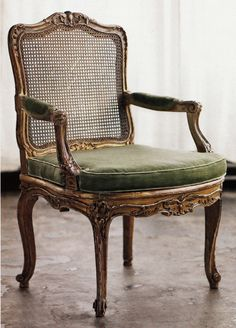 Circa 1880 Louis XV-style chair