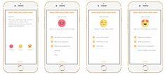 Designing an in-app Survey — Budi Brain — Medium Mobile App Design, Mobile App Ui, App Ui Design, Interface Design, Web Design, Interface App, Survey Design, Quiz Design, Form Design