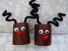 Toilet roll reindeer image