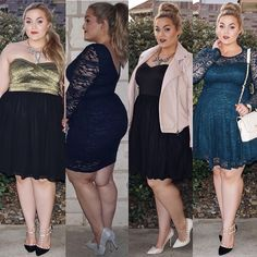 Plus Size Fashion - Loey Lane in Fashion to Figure