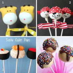 A little Etsy shopping: Cake pops