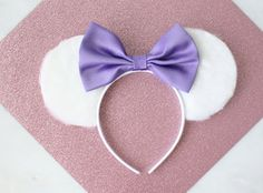 Hey, I found this really awesome Etsy listing at https://www.etsy.com/listing/238118033/daisy-duck-mouse-ears